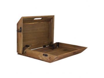 Tablett aus Holz