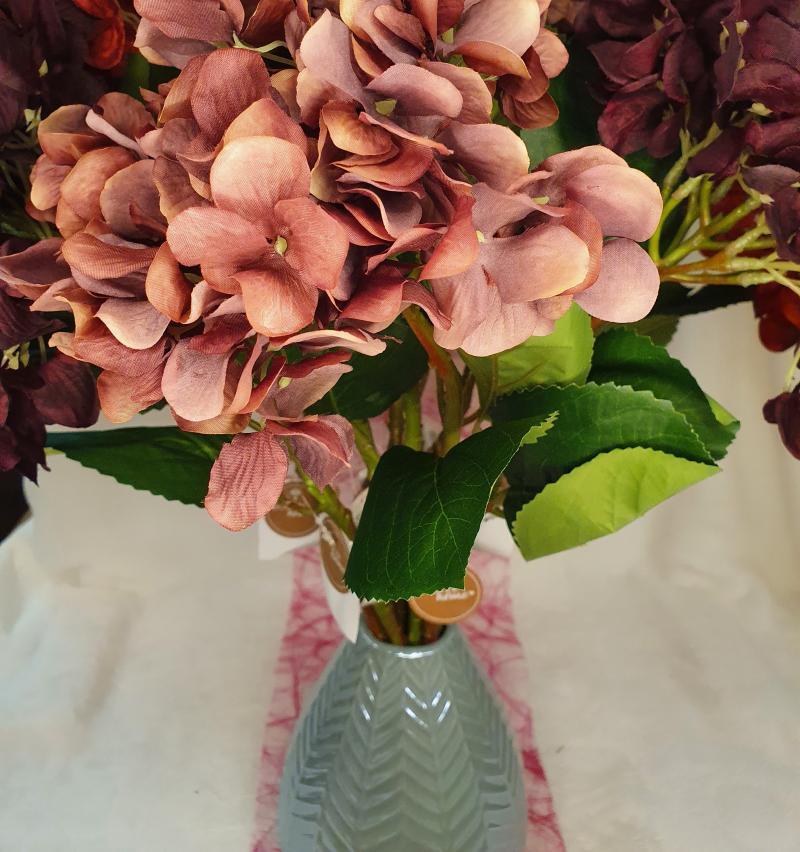 Kunstblume Hortensie