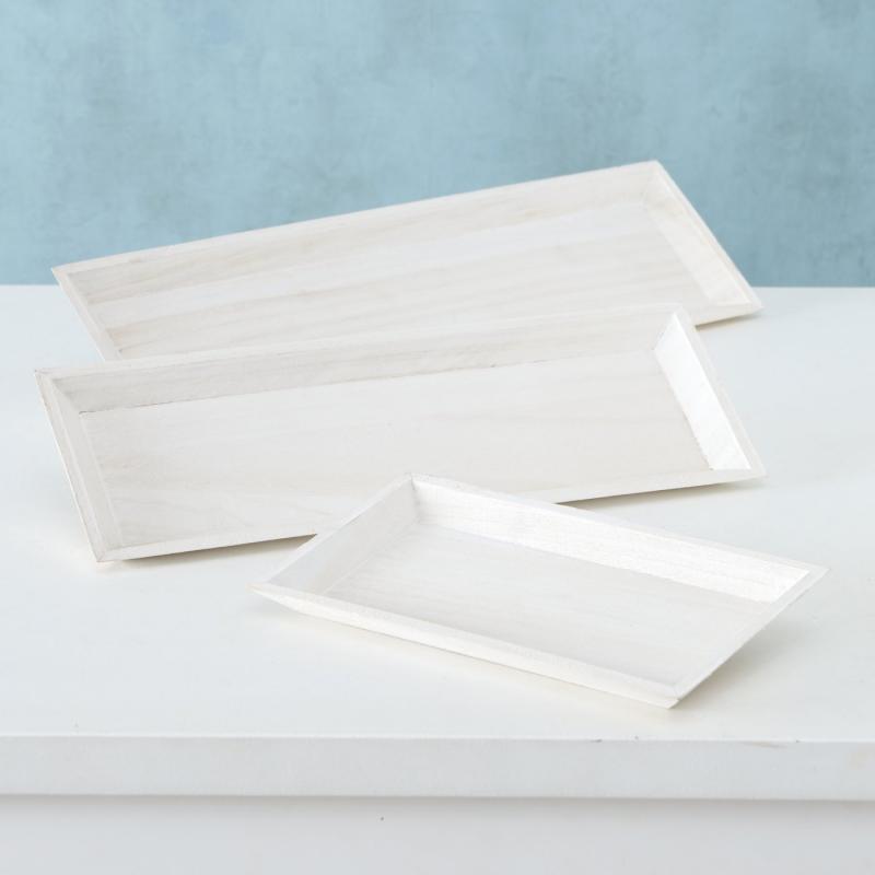 Tablett Lanto weiß