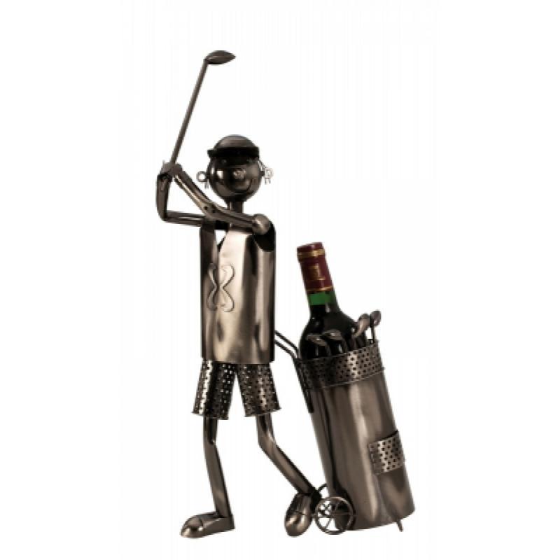 Wein-Flaschenhalter Golfspieler