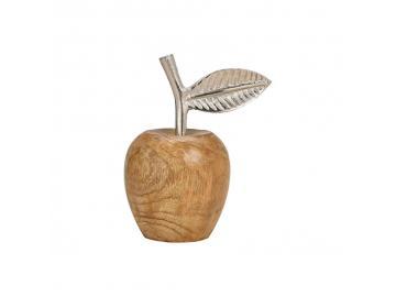 Apfel aus Metall & Holz