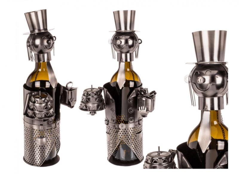 Wein-Flaschenhalter Gratulant