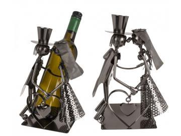 Wein-Flaschenhalter Liebespaar