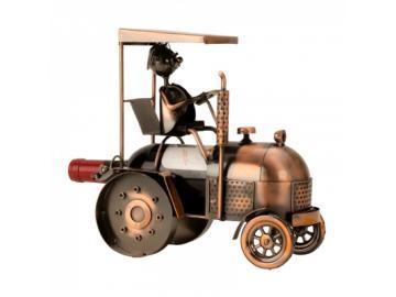 Wein-Flaschenhalter Traktor
