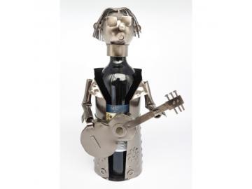 Wein-Flaschenhalter Gitarrist