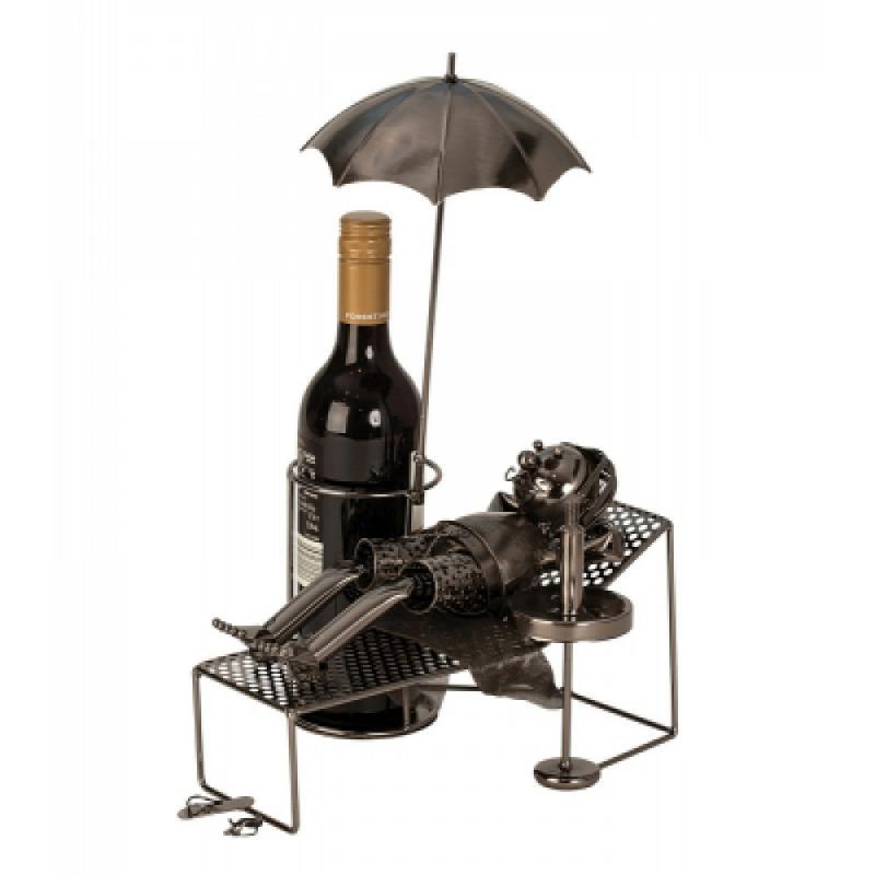 Wein-Flaschenhalter Urlauber